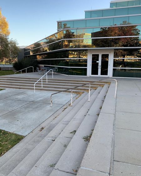 Preview image for U of U Long 5 Stair Rail