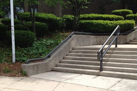 Preview image for Creston High School 7 Stair Kink Rail