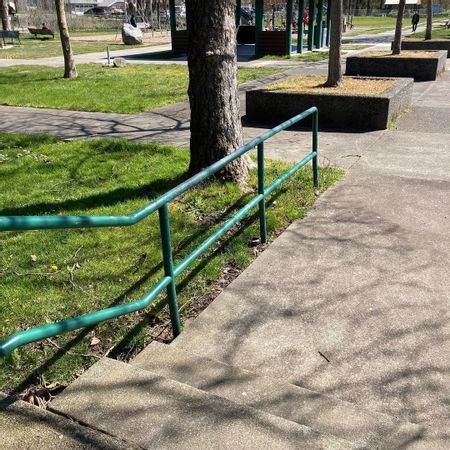 Preview image for Steve Cox Memorial Park - 2 Stair Out Rail