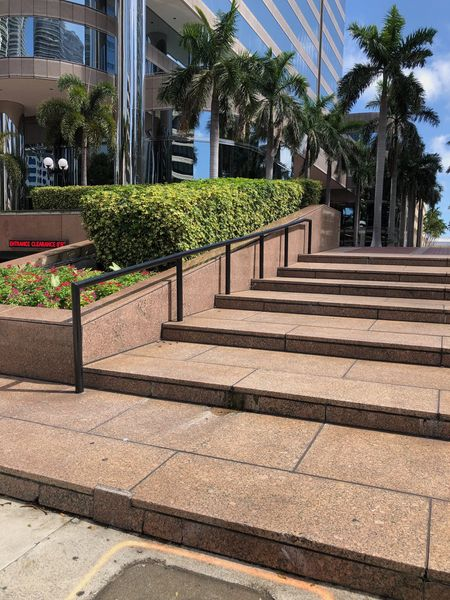 Preview image for Bank of America Long 7 Stair Rail