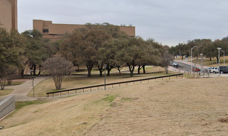 preview image for UT Austin - Curved 19 Stair Rail