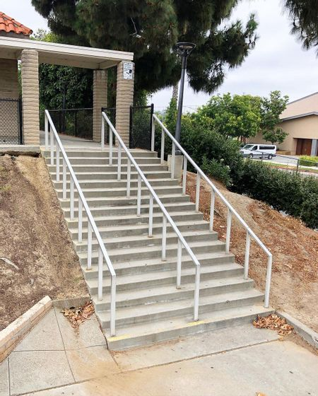 Preview image for Marco Foster Middle School - 17 Stair Rail