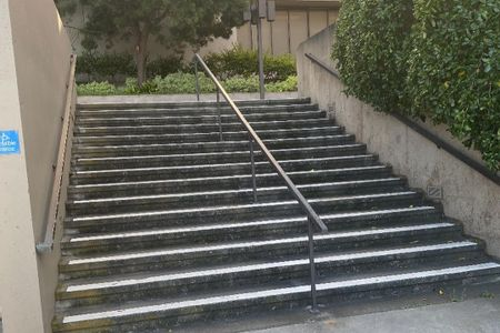 Preview image for SFSU Library 15 Stair Rail