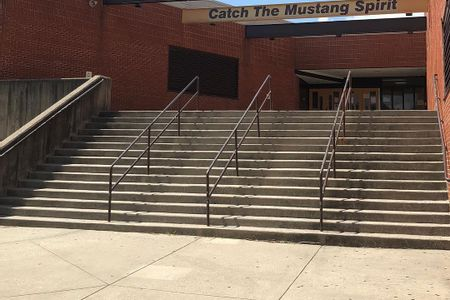 preview image for Meade High School 16 Stair Rails