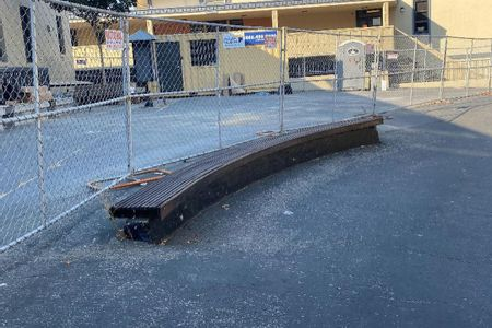Preview image for Los Gatos High School Curved Wood Ledge