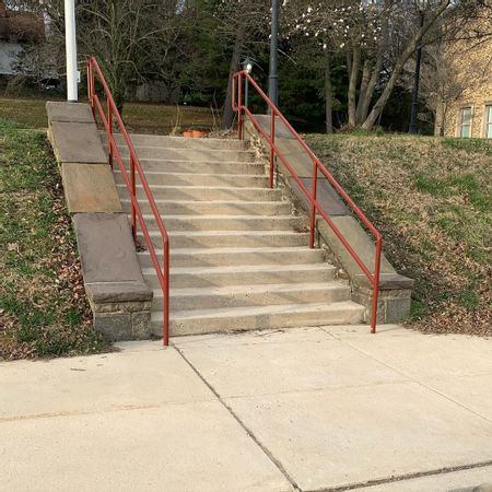 Preview image for Towson High School - 12 Stair Rail