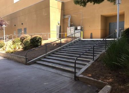 Preview image for Poway High School Long 14 Stair Rail
