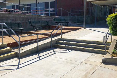 preview image for Ridgecrest Intermediate School 3 Stair Out Rail