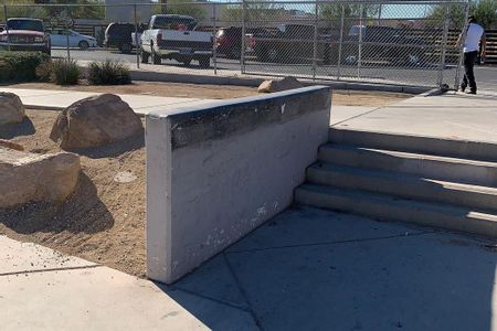 Preview image for Jim Bridger Middle School 4 Stair Out Ledges