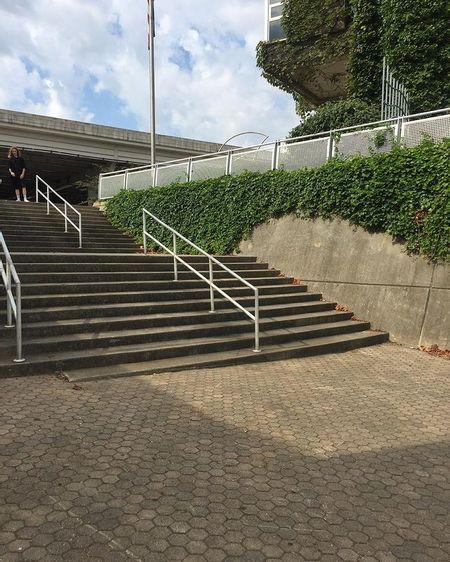 Preview image for Louisville Riverwalk 11 then 10 Stair Rail / Wallride