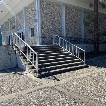 Preview image for Cubberley Community Center - 10 Stair Rail