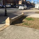 thumbnail for Ledge over grass gap