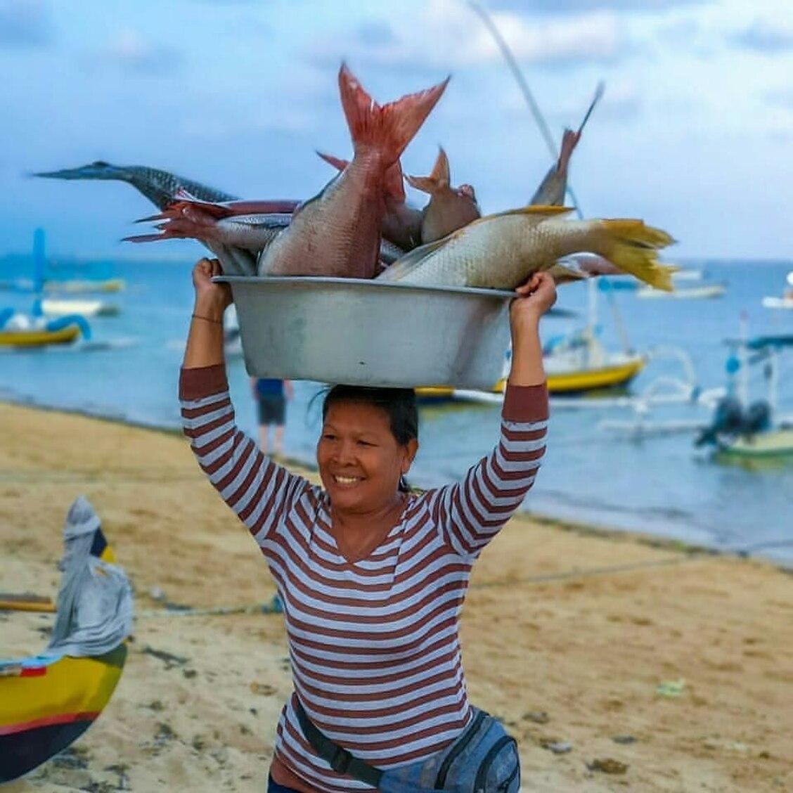 Kedonganan Seafood Market Bali