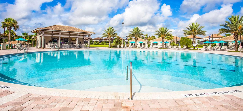 Main adult pool and Tiki bar