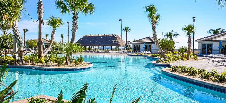 Main resort pool at Champions Gate