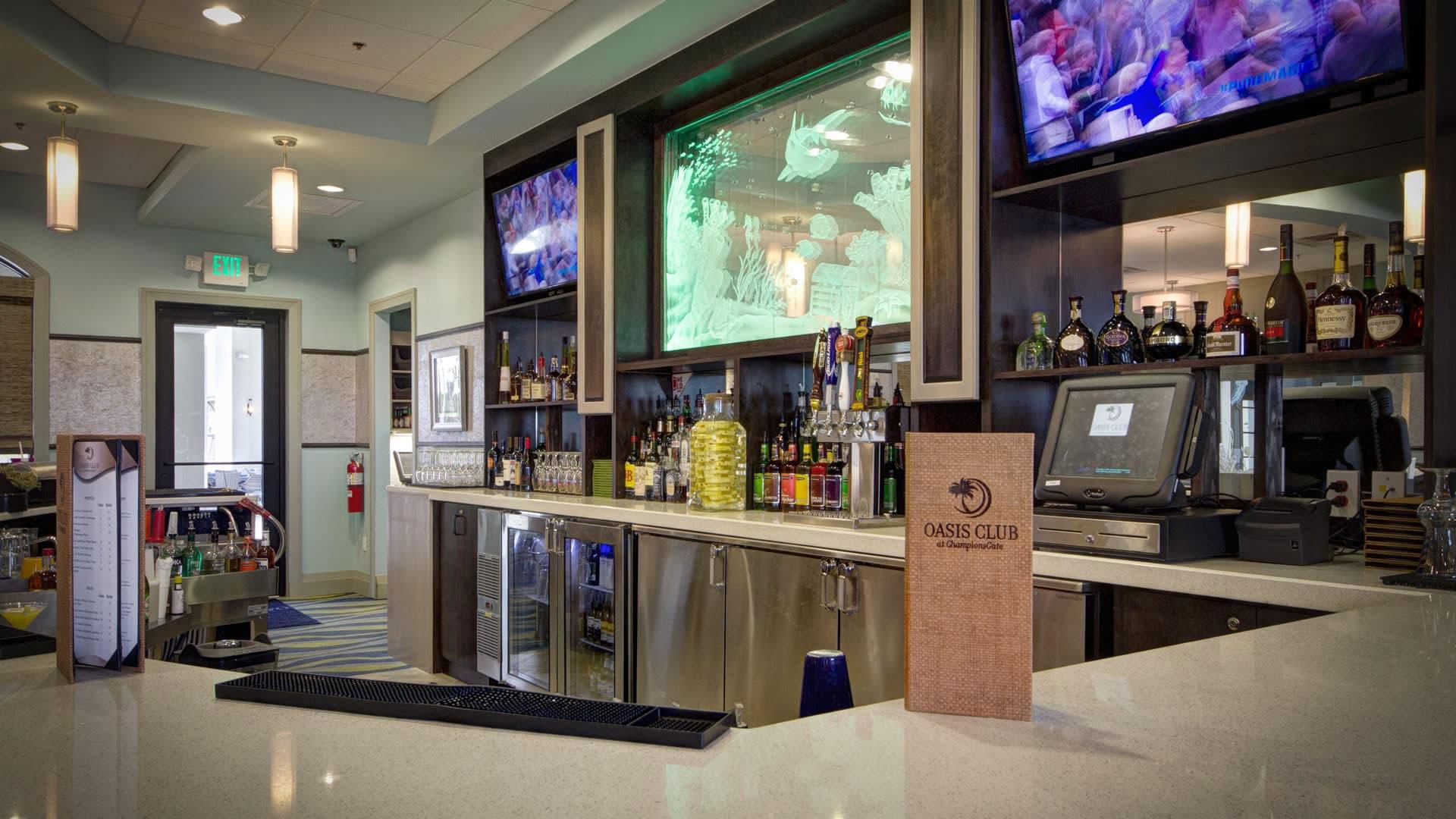 Oasis club bar
