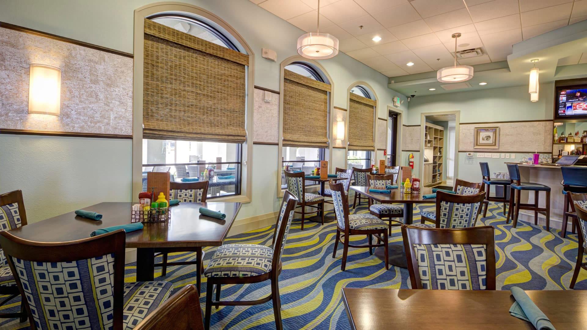 Oasis club restaurant