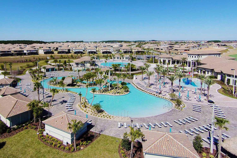 Ariel view of Champions Gate Resort