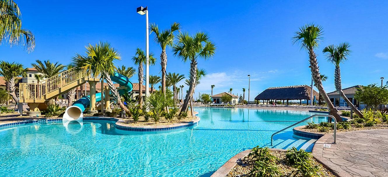 Resort pool at Champions Gate