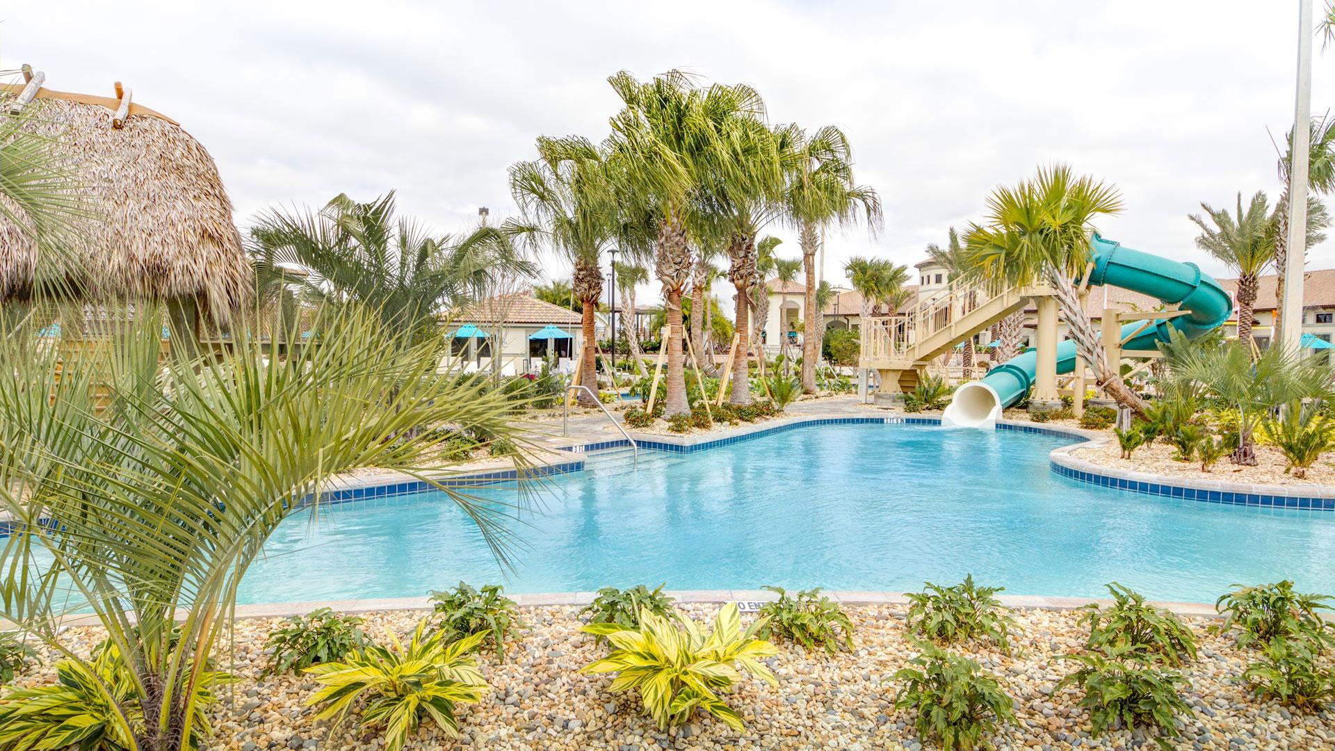 Water slides at Champions Gate Resort