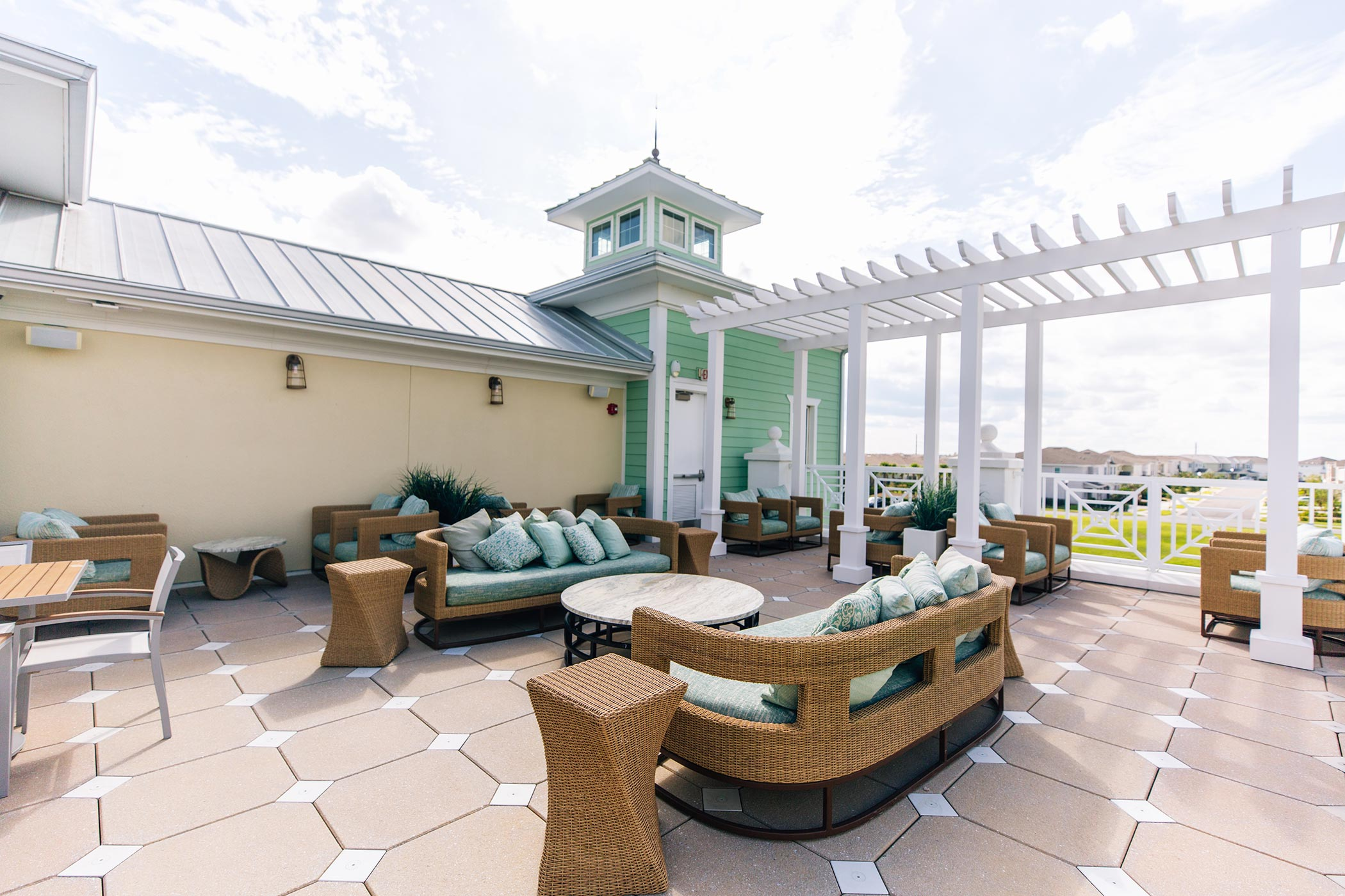 Clubhouse deck day