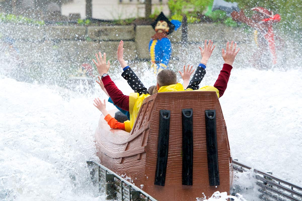 Pirate Falls at the LEGOLAND Windsor Resort Florida