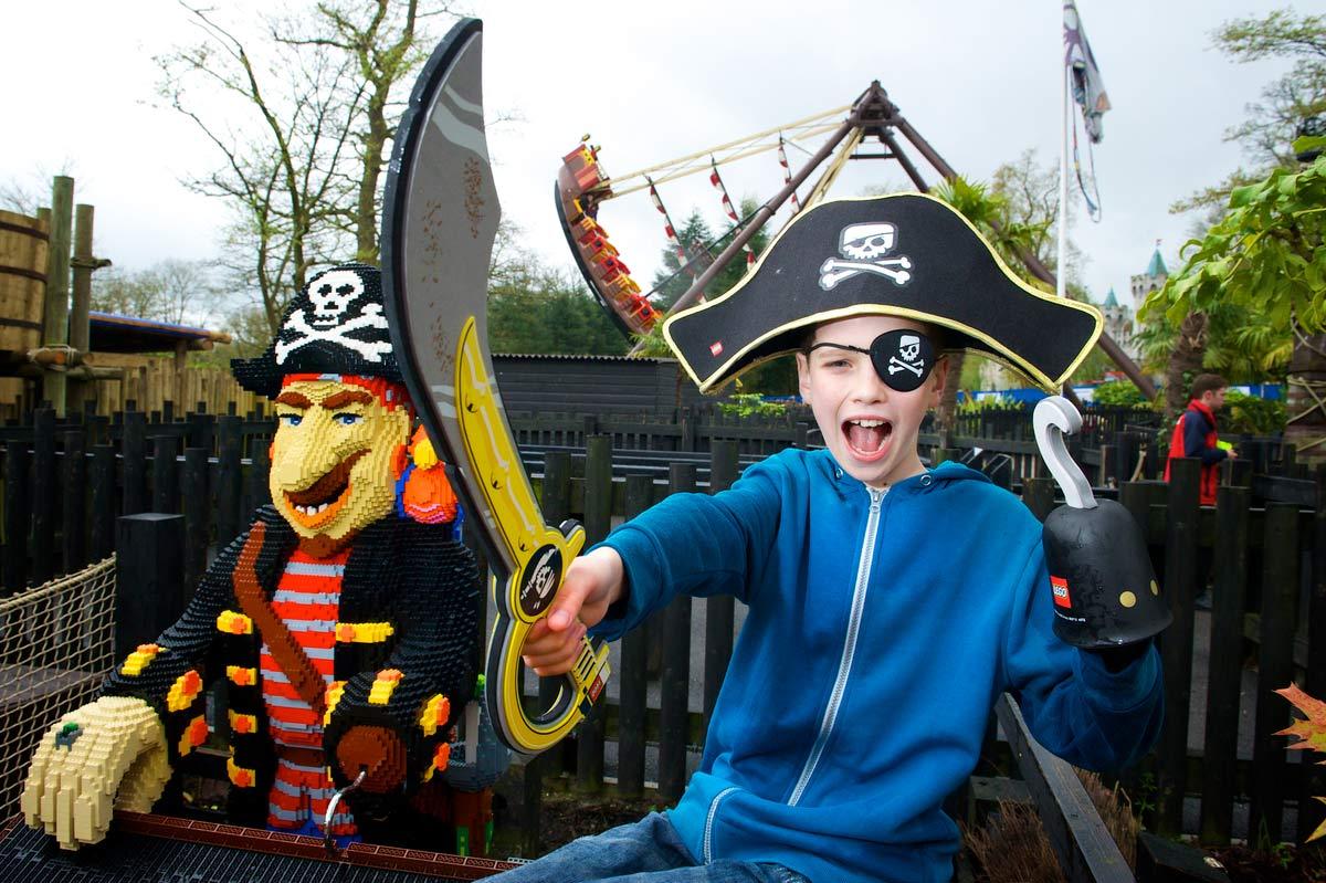 Pirate Shores at the LEGOLAND