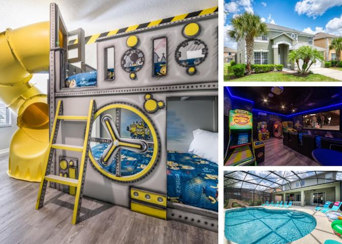 Emerald Island Resort Orlando Villa 3435