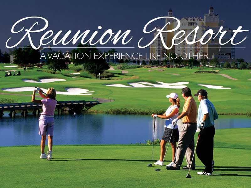 Fancy a game of Golf at Reunion Resort