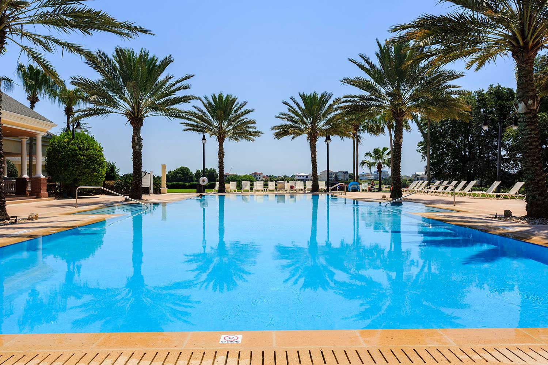 reunion-resort pool area