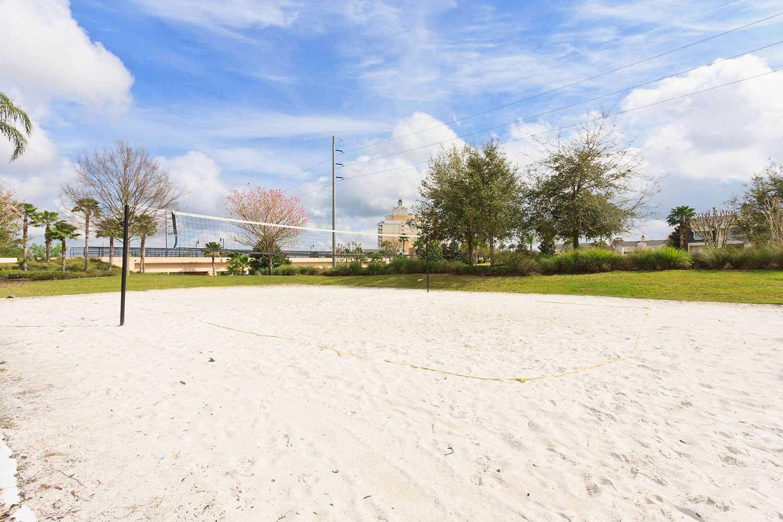 reunion resort sand volley ball court