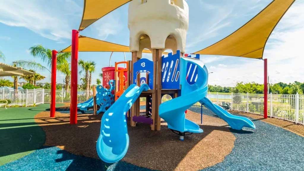 Kids playground at Solara Resort