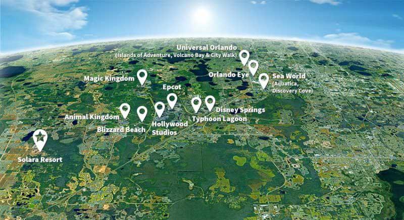 Solara resort Map