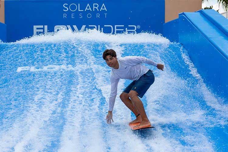 Solara resort flowrider