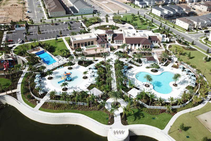 Solara resort from above