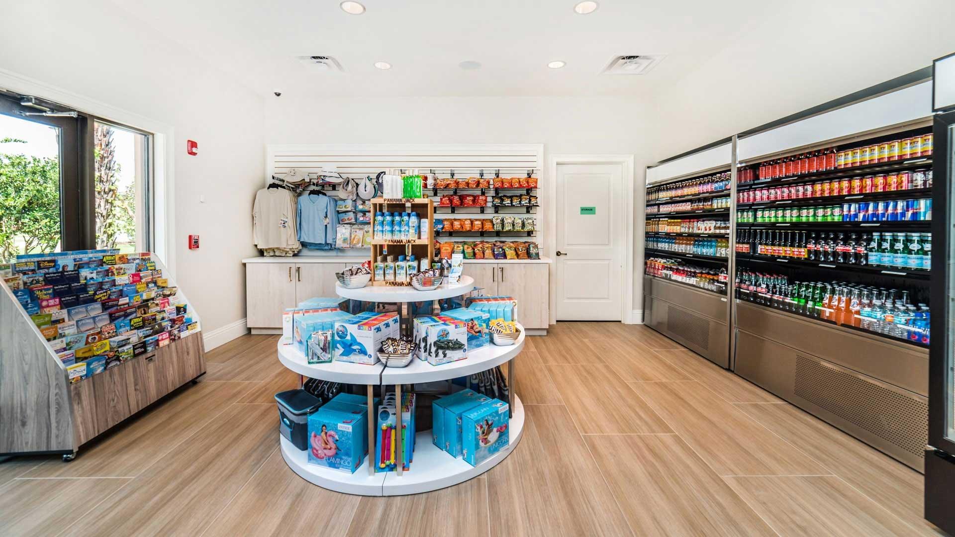 Sundry shop at Solara Resort
