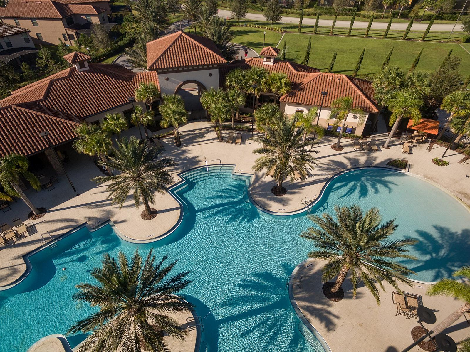 Aerial view of Solterra Resort Davenport