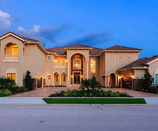 Orlando Manion, Villas in Florida