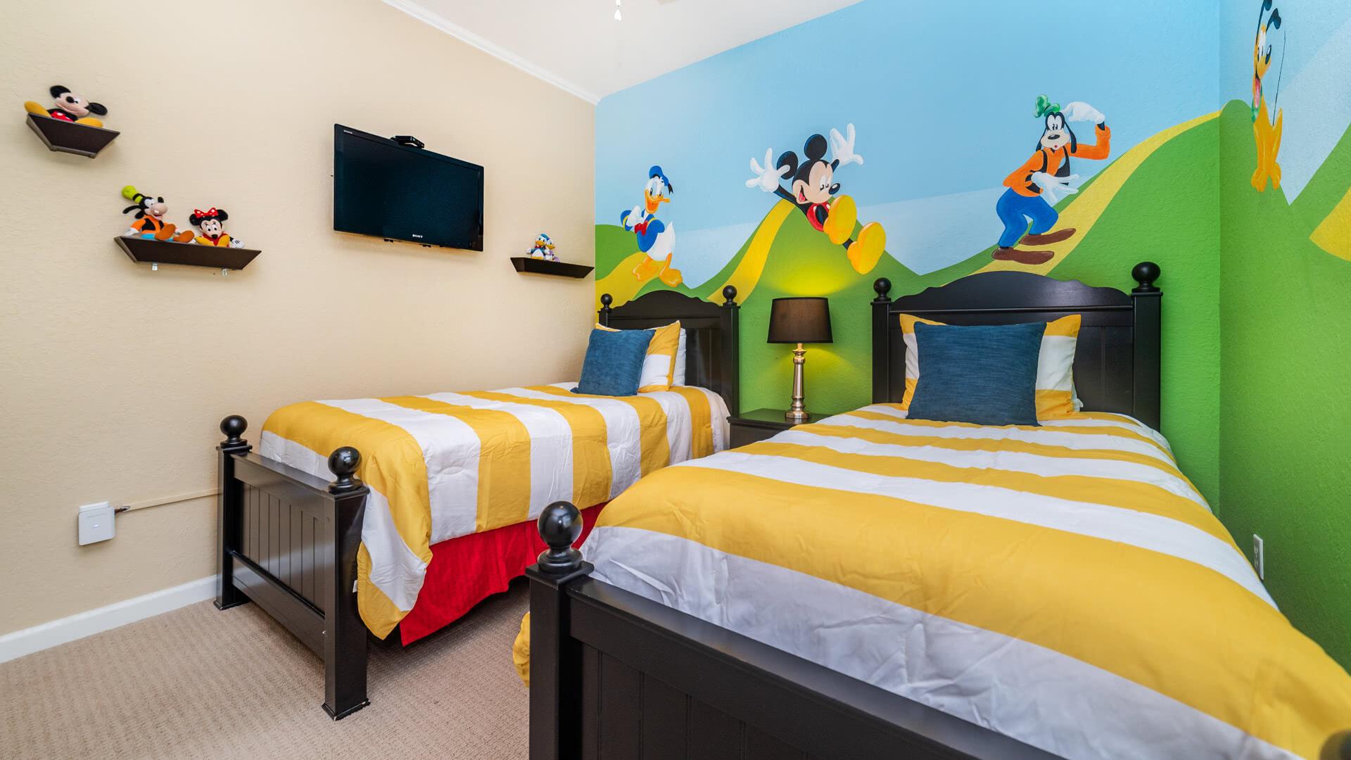 Bedroom 3 (TWIN/TWIN)