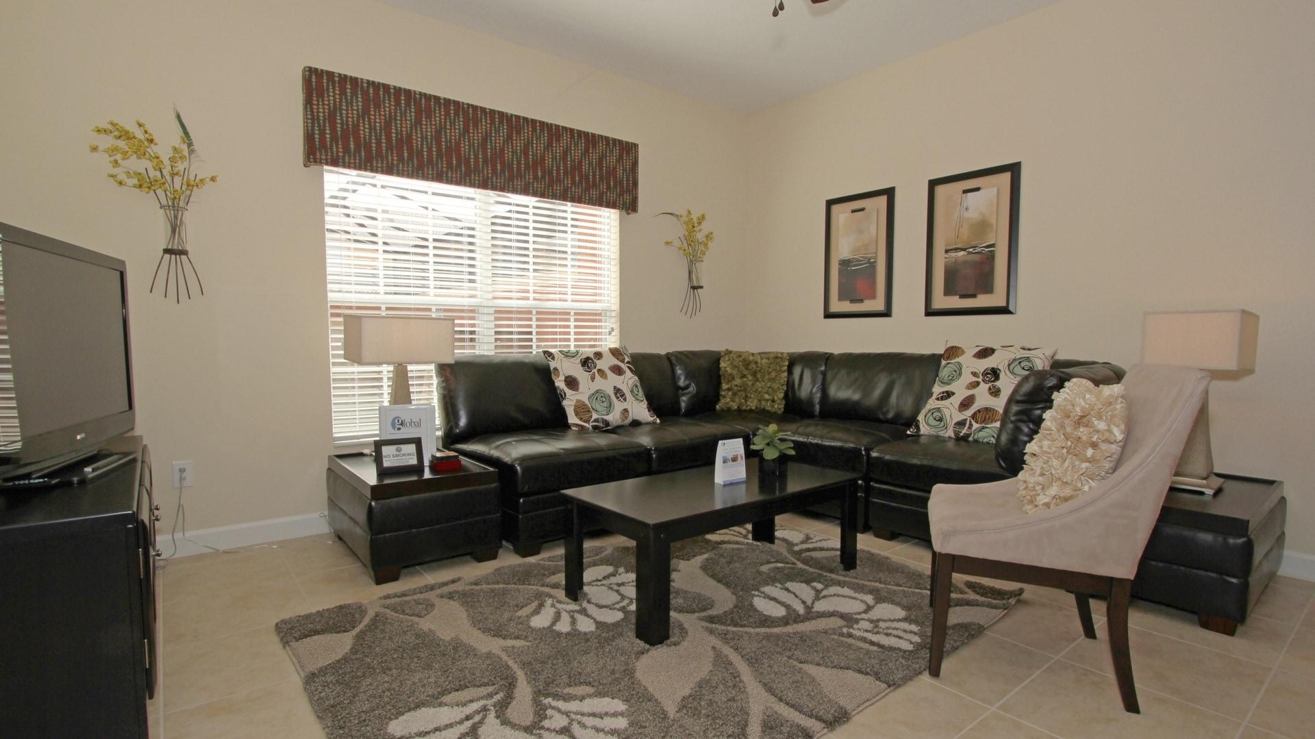 """Living Room / 43"""" 4K Smart TV"""
