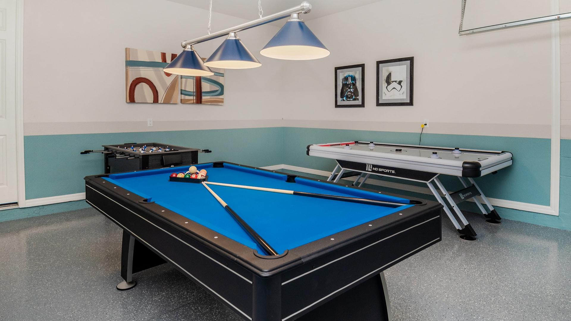 Game Room Angle