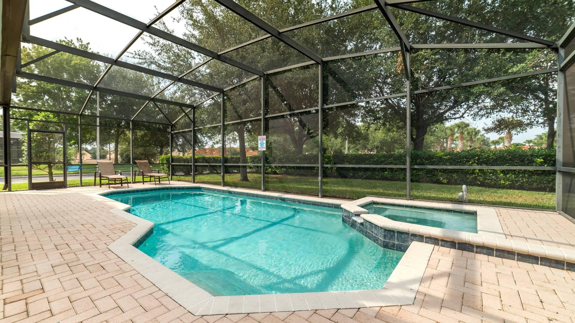 Pool & Spa & Patio