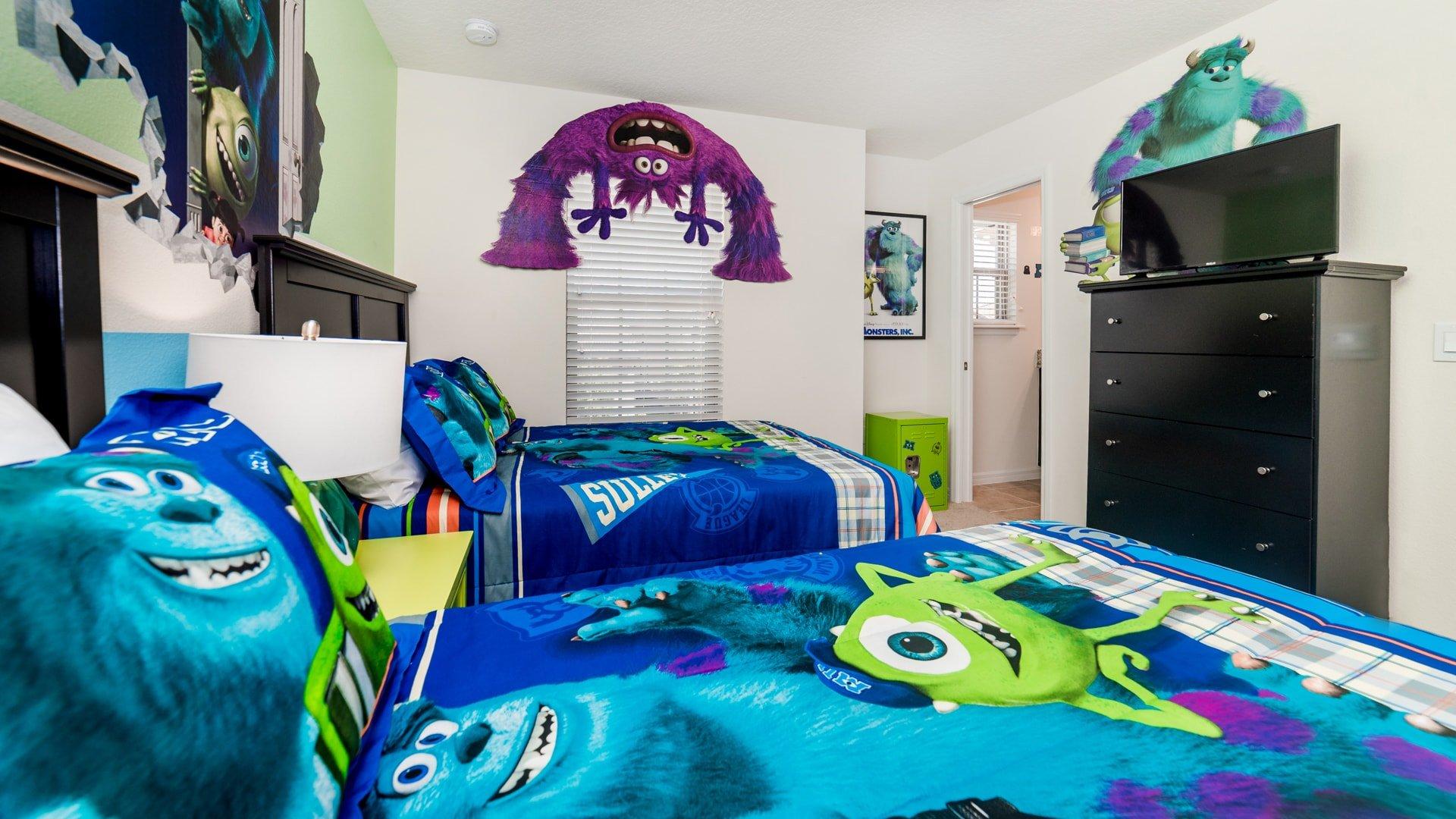 Bedroom 3 - Angle