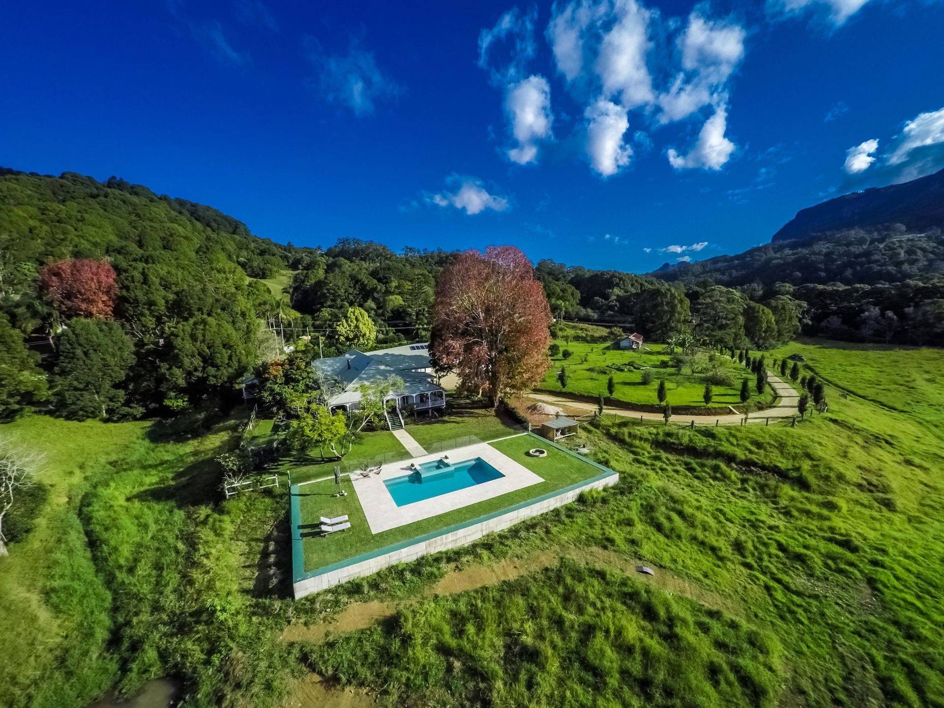 the ultimate privacy Hillview Homestead offers