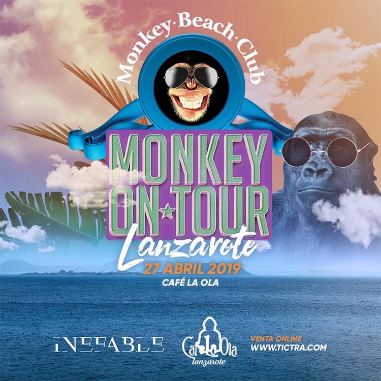 Monkey On Tour