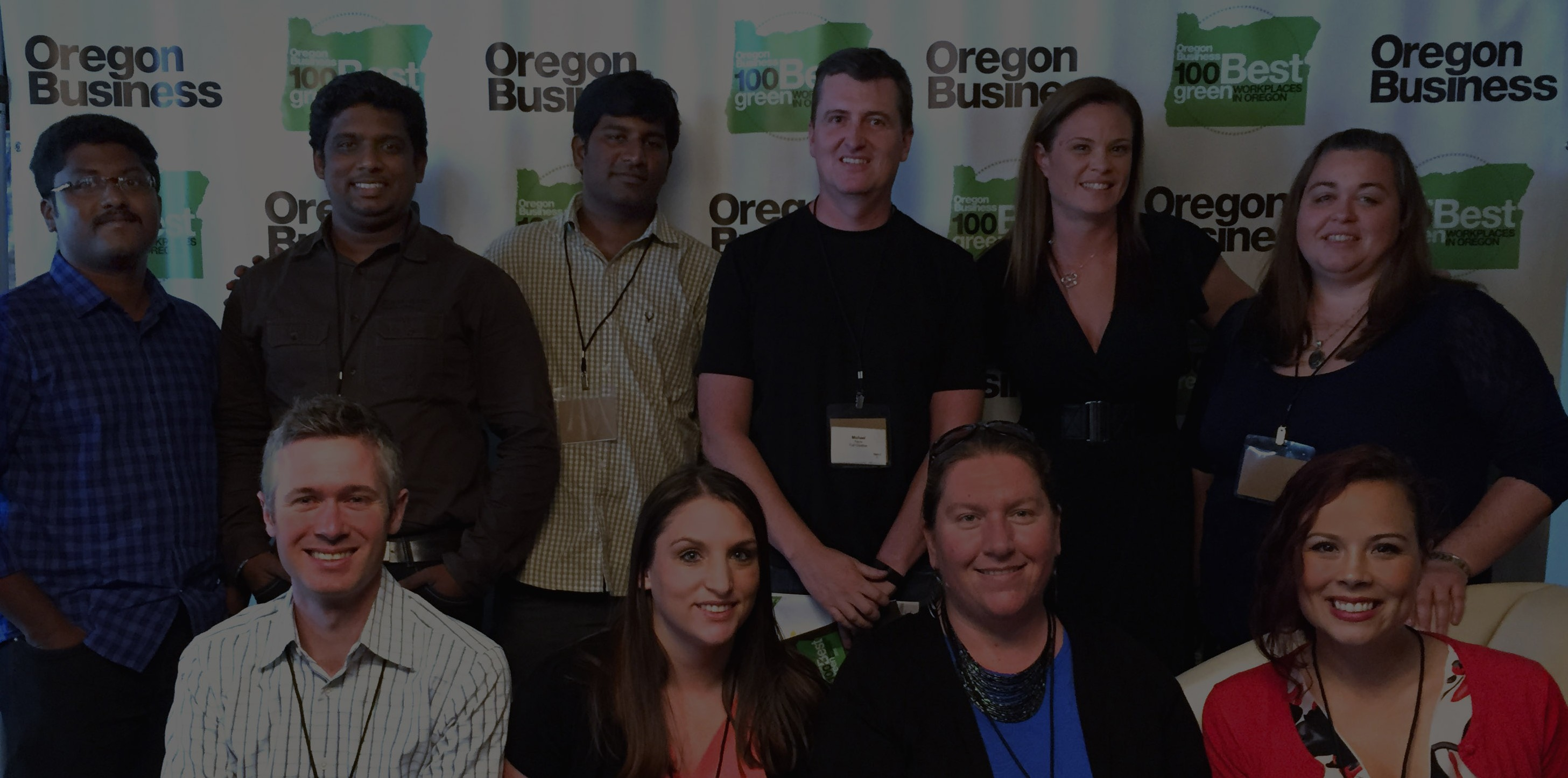 FULL Creative at Oregon Business Magazine's Green Workplaces event