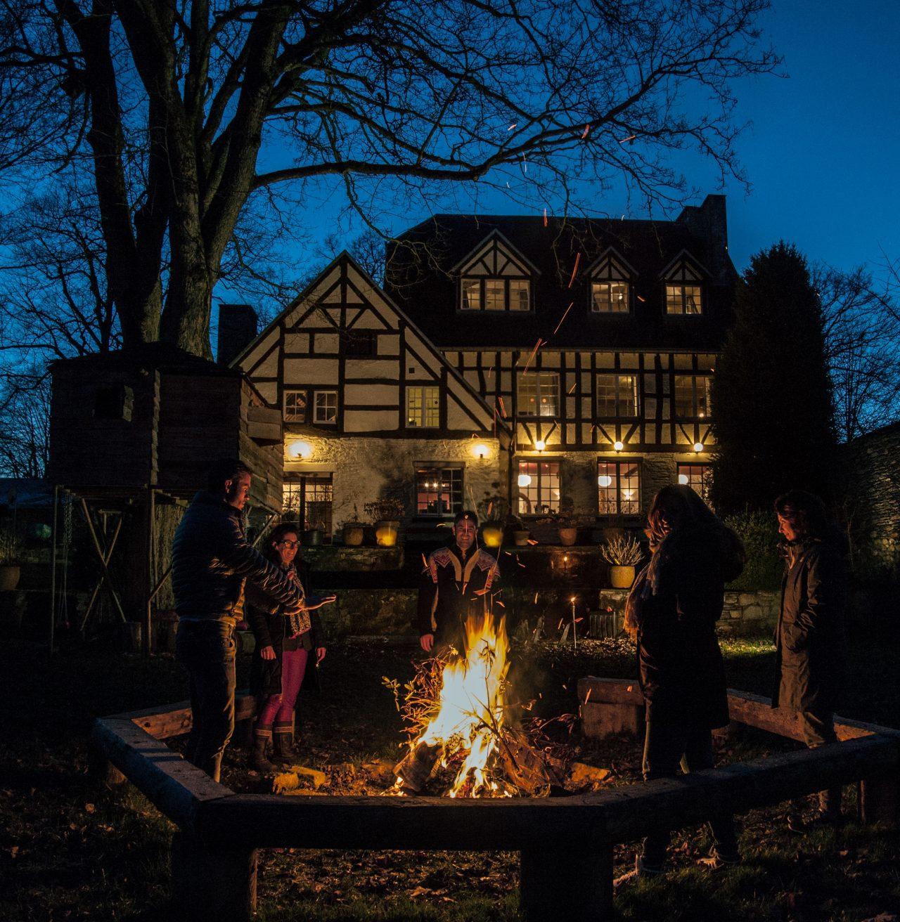 Domaine des Officiers - Campfire