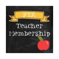 Charlotte Wood PTA Teacher Membership Product Image
