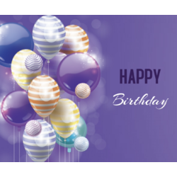 PTA Birthday Marquee Message Product Image