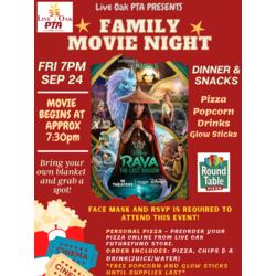 2021-22 LOPTA Family Movie Night Step 1: Mandatory RSVP Product Image